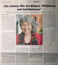 Ammersee-Kurier Interview Foresti