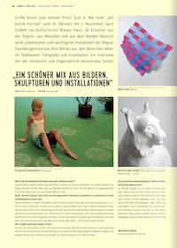 Kunst + Kultur - Ein schöner Mix ....